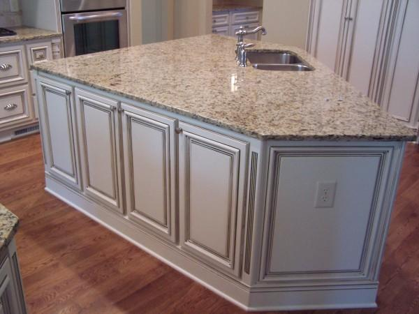 glazed cabinet doors counter island portland cabinet cures