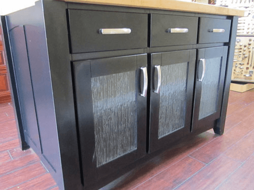 flat pull bars on black cabinet doors portland cabinet cures