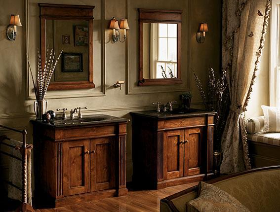 brown bathroom cabinets refacing portland cabinet cures