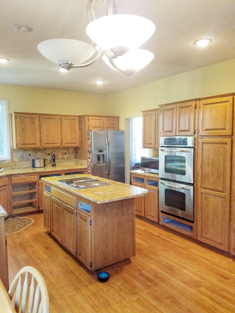 old Kitchen, oak