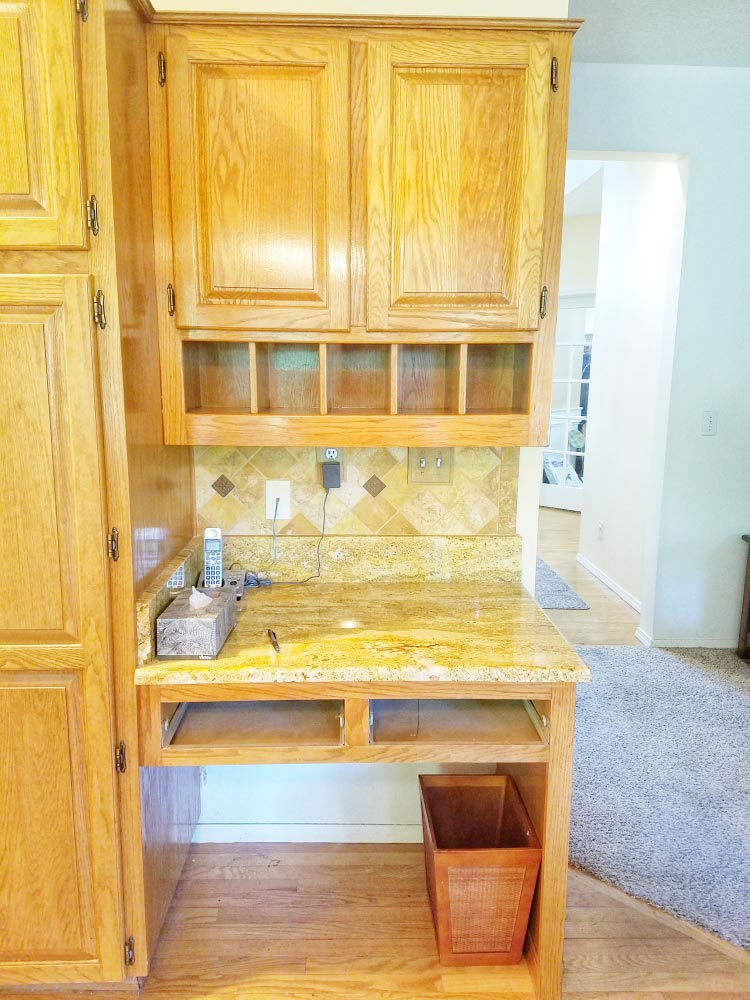 old kitchen cubby