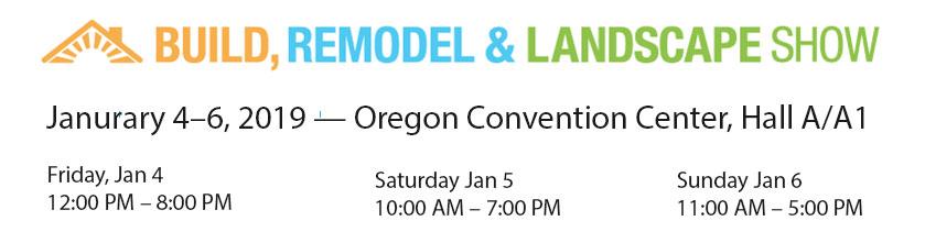 Build Remodel Landscape Show with Portland Cabinet Cures