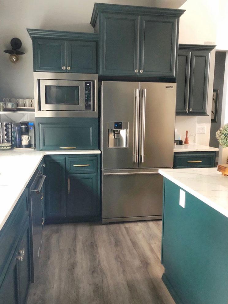 new custom cabinets
