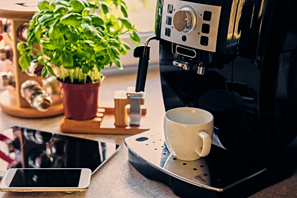 Set your smart kitchen up so that coffee is ready every morning, when you wake up!